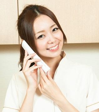 ママの骨盤矯正では優しく丁寧に電話応対しております。