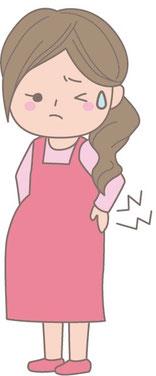 産後の歪みを放っておくと腰痛&妊娠体型のままに…
