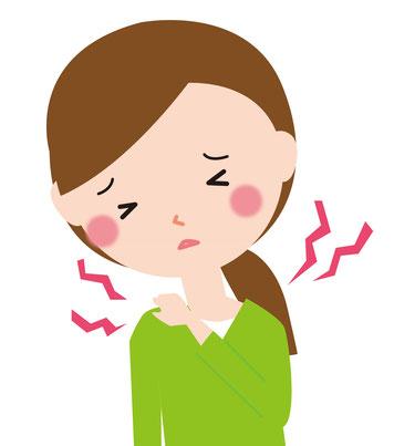 産後骨盤矯正は辛い肩こり、首こりを改善します。
