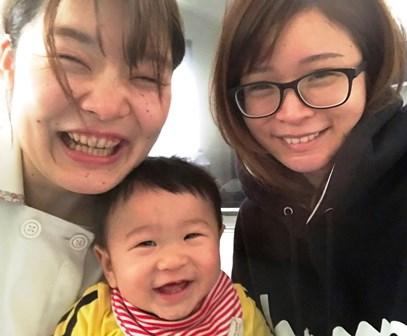 産後骨盤矯正 お客様の笑顔写真3
