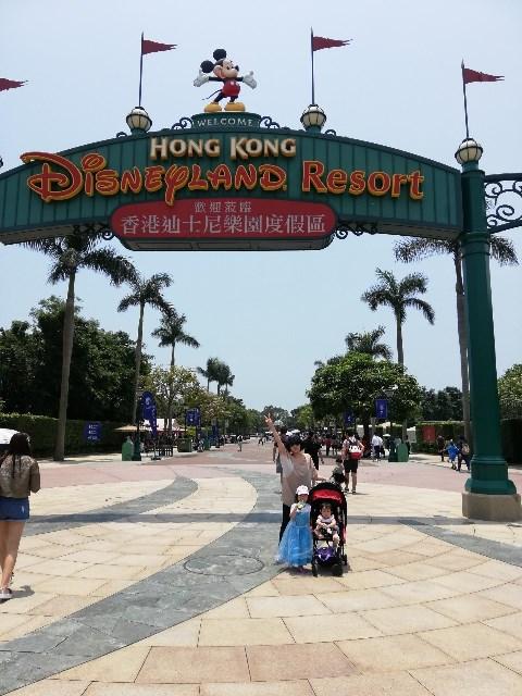 香港ディズニーランドに行ってきました。