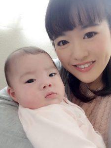 産後骨盤矯正 お客様の笑顔写真