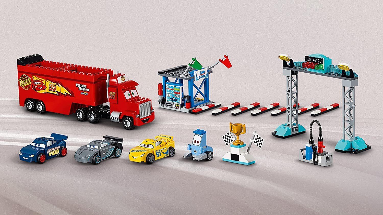 レゴ (LEGO) 知育玩具 ジュニア ディズニー カーズ フロリダ 500 ファイナル・レース 10745