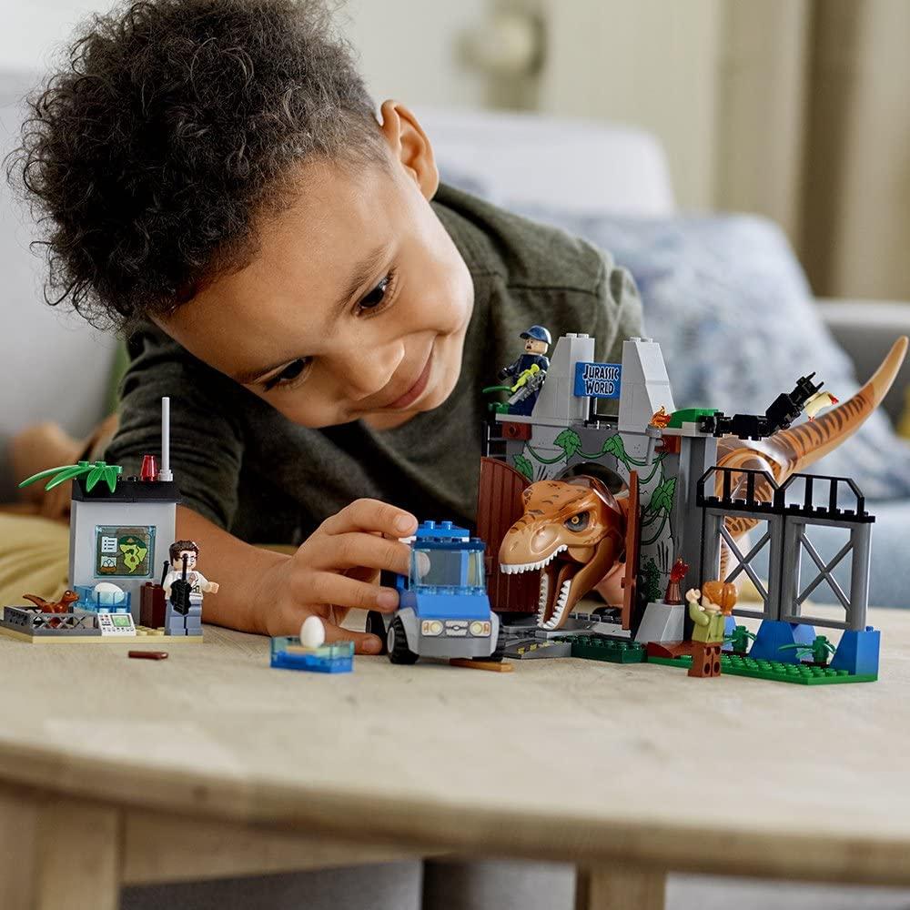 レゴ(LEGO)知育玩具 ジュニア T-レックスの脱走 10758