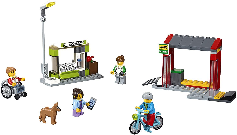 レゴ(LEGO)知育玩具 シティ バス停留所 60154