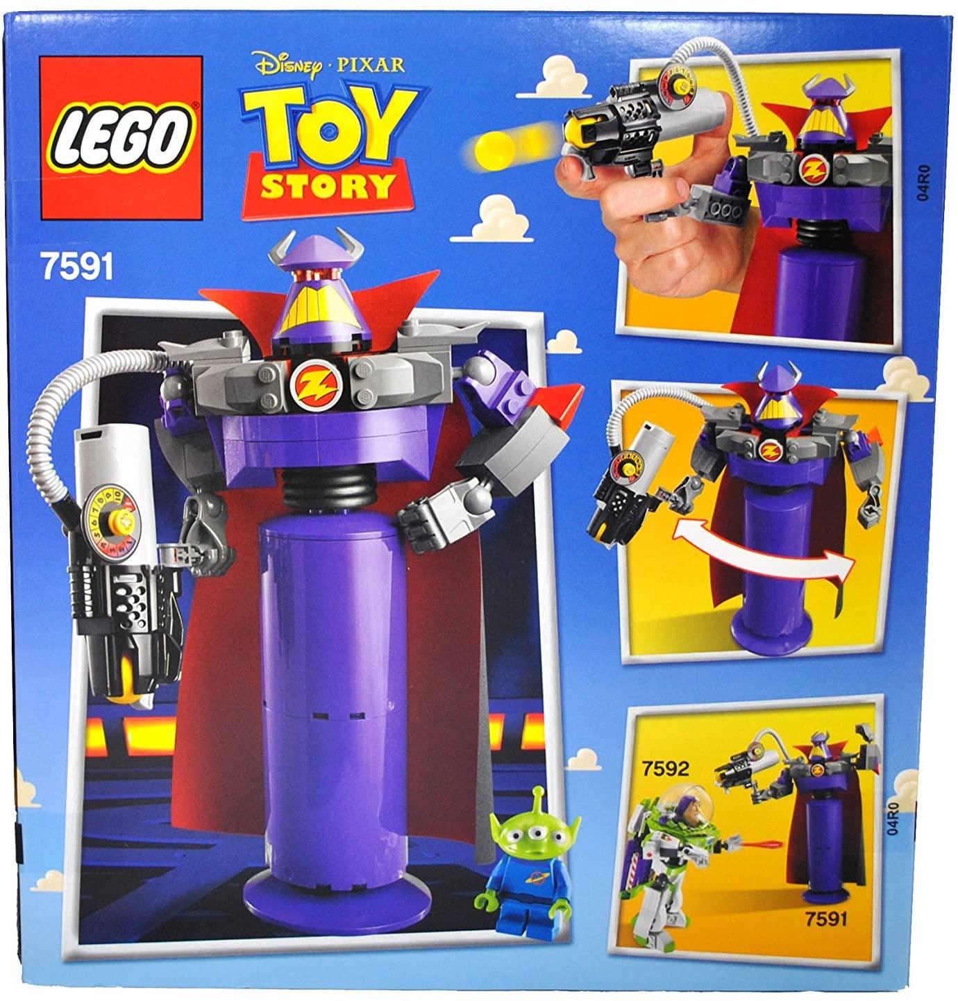 レゴ (LEGO)知育玩具 トイ・ストーリー 悪の帝王ザーグ 7591