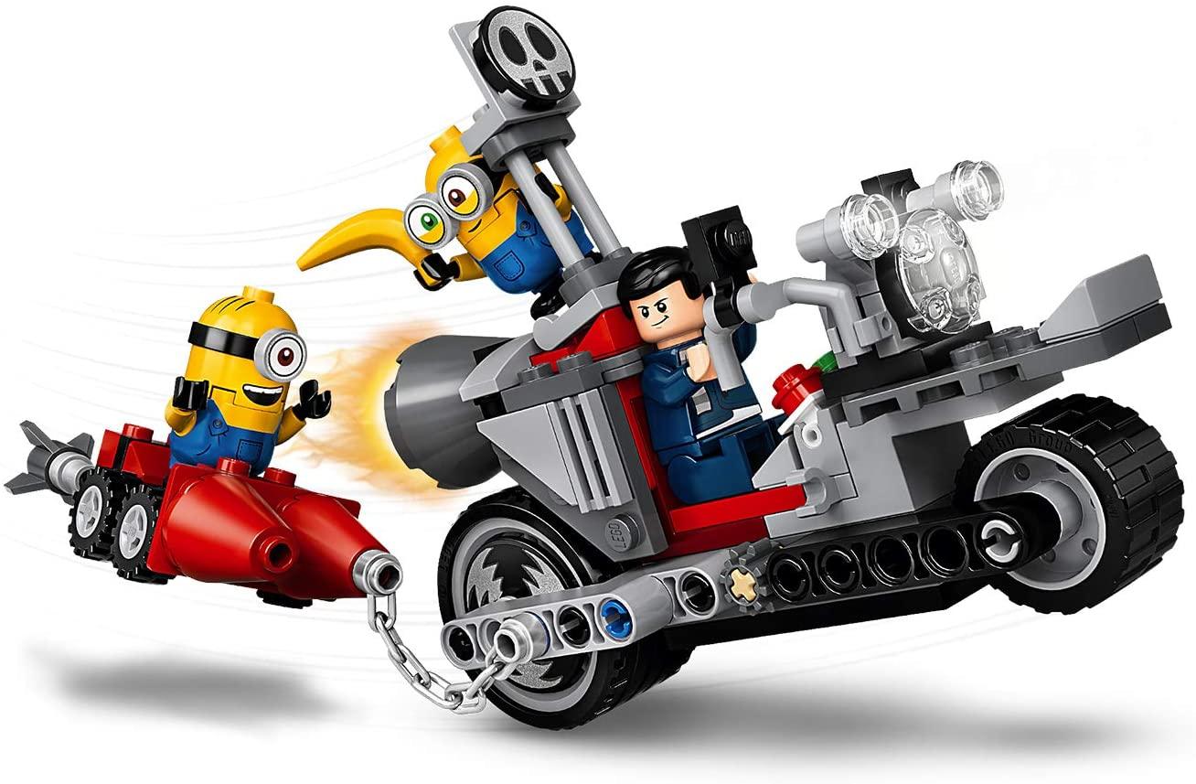 レゴ(LEGO)知育玩具 ミニオン ミニオンのバイクチェイス 75549