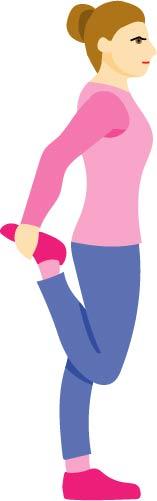 産後の膝痛改善のためのストレッチ