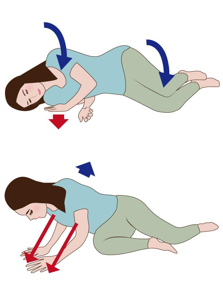 産後に肩こり、腰痛にならないためにやってはいけない姿勢とは